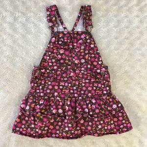 OshKosh B'Gosh Tiered Jumper Dress Floral Pink